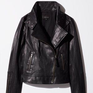 Aritzia x Mackage Leather Jacket